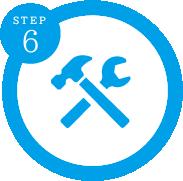 STEP6 施工